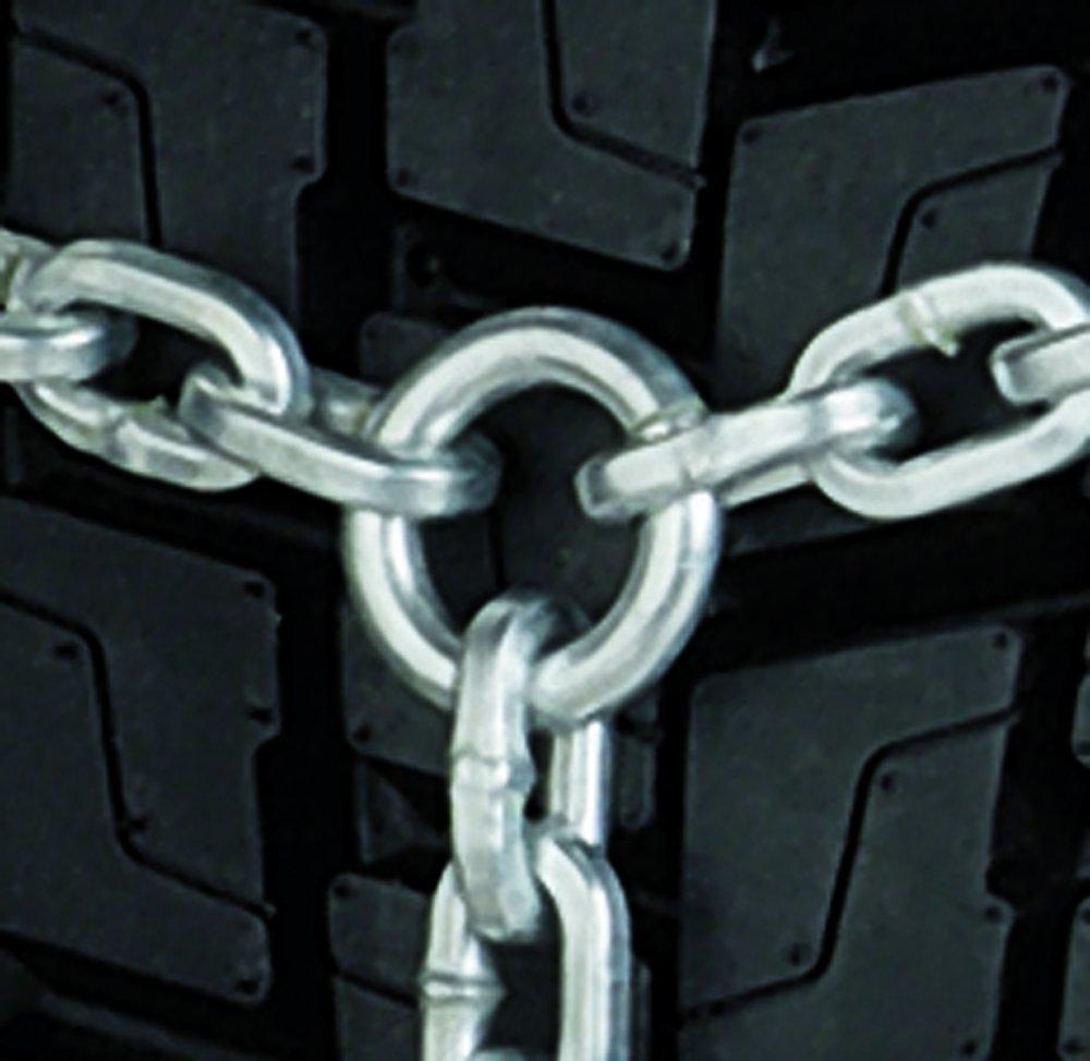 Ringschneekette mit D-Profil-Greifglieder