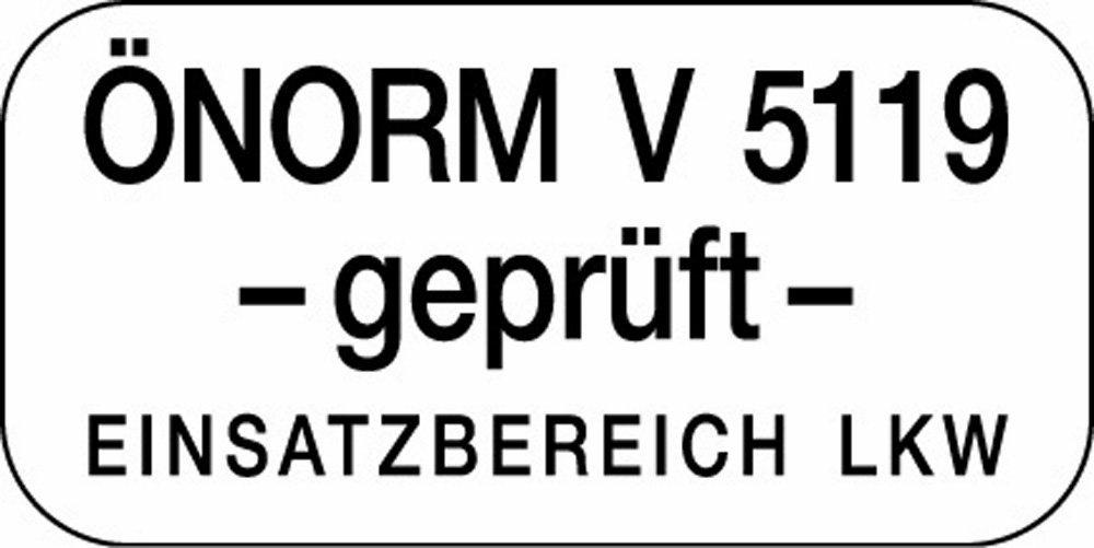 Ö-Norm zertifiziert auch für LKW